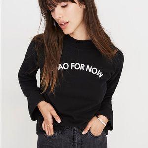 🛵 Madewell Ciao for Now Mockneck Sweatshirt 🛵